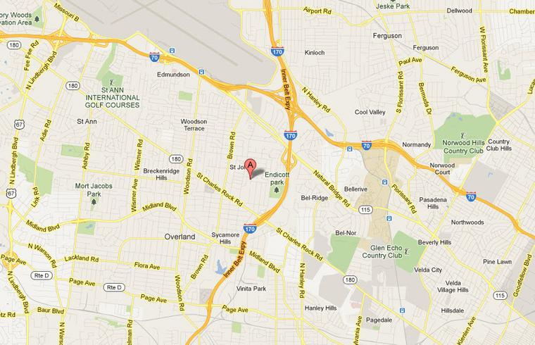 Appliance Repair in St Johns Mo 63114 Service Map Area