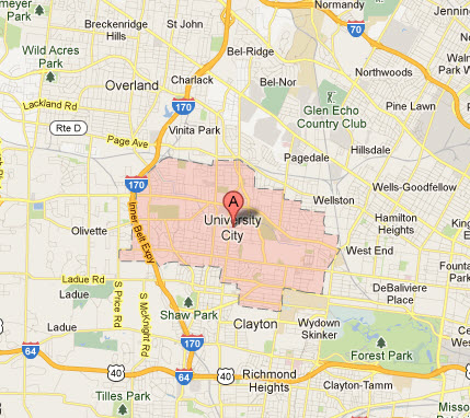 Appliance Repairs in University City (U-City Mo) Coverage Areas