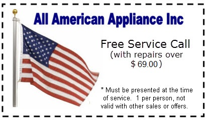 All American Appliance  Coupon St Louis MO